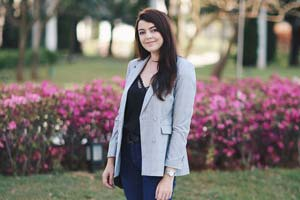 Look do dia: Blazer cinza xadrez