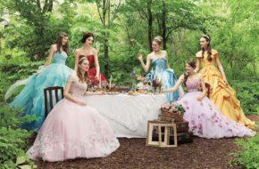 Vestidos de noiva inspirados nas Princesas Disney