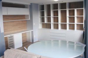 Sala e Home Office – Reforma e móveis planejados