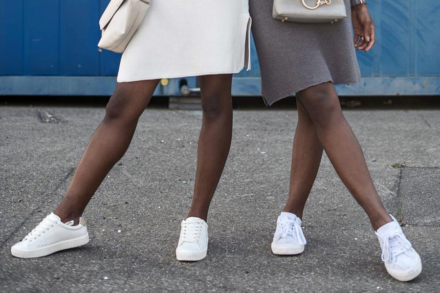 22c1d40911 Como usar  Vestido com tênis - Just Lia