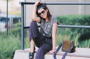 Look do dia: Pantalona listrada