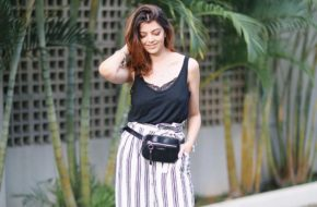 Look do dia: Pantacourt e pochete