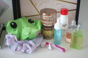 Produtos favoritos do banho