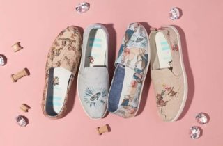 Alpargatas e tênis de princesa Disney x TOMS