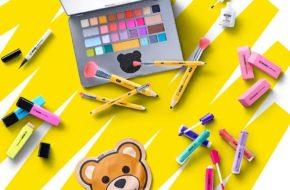 Maquiagem inspirada em papelaria – Moschino X Sephora