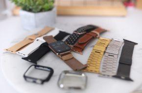 Minhas pulseiras de Apple Watch