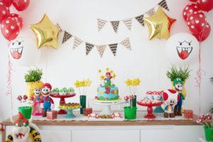 Festa do Super Mario – Aniversário de 3 anos do Fefê