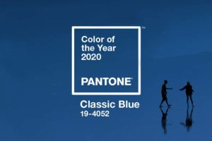 Classic Blue é a cor de 2020