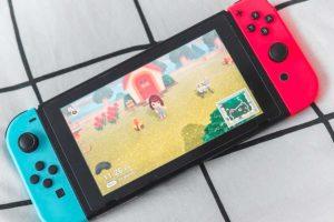 Nintendo Switch e Animal Crossing