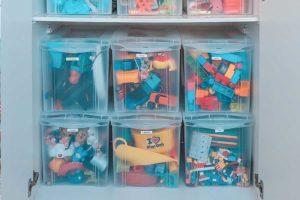 Organização de quarto de criança